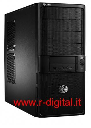 CASE COOLER MASTER ELITE 335u MIDDLE TOWER ATX USB NERO 335 u