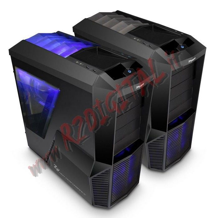 CASE ZALMAN Z11 PLUS MIDDLE TOWER ATX USB 3.0 120m FAN SILENT HD