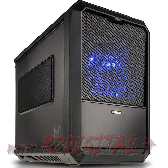 CASE HTPC ZALMAN M1 MINI ITX MICRO ATX USB 3.0 TOWER 120mm FAN