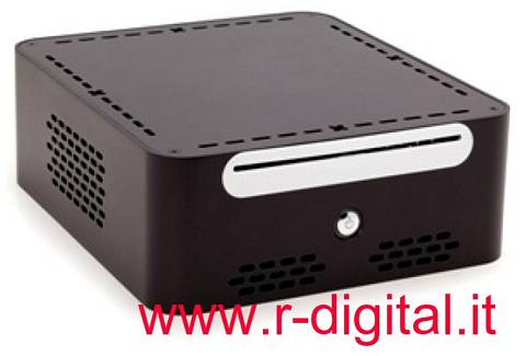 CASE ITEK MINI ITX KIWI STORAGE SERVER ALIMENTATORE MINI MAC