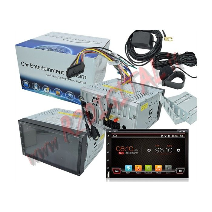 "AUTORADIO 2 DIN ANDROID 3G WIFI MONITOR 7"" GPS BLUETOOTH"