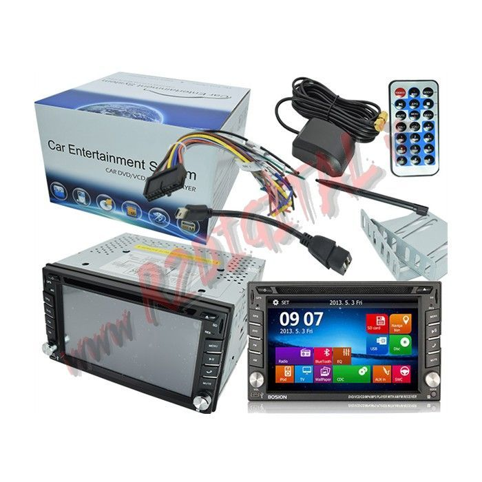 "AUTORADIO 2 DIN WINDOWS 3G WIFI MONITOR 7"" GPS BLUETOOTH"