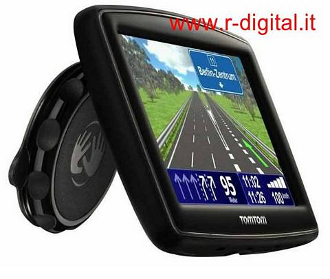 NAVIGATORE GPS TOM TOM ONE XL2 MAPPA SCREEN 4,3 SUPPORTO ITALIA