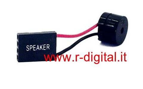 SPEAKER ERROR MOTHERBOARD ALTOPARLANTE SCHEDA MADRE 4 PIN
