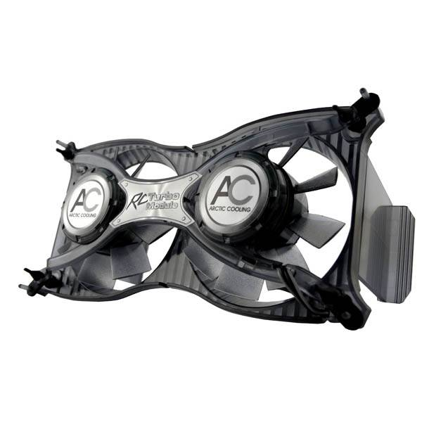 DISSIPATORE 2 VENTOLE RAM ARCTIC COOLING RC TURBO MODULE DDR