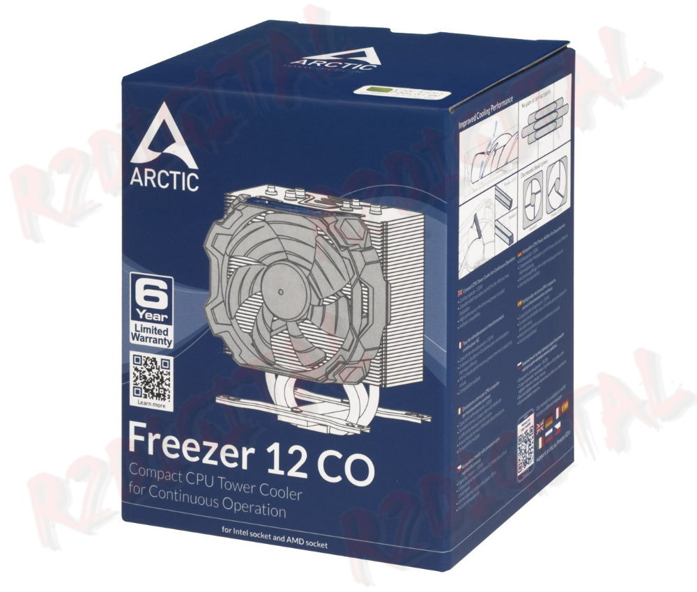 DISSIPATORE ARTIC FREEZER 12 CO