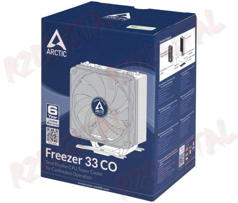 DISSIPATORE ARTIC FREEZER 33 CO