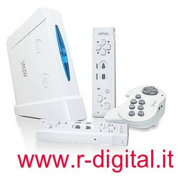 CONSOLE MI2 WIRELESS WII STYLE 31 GIOCHI GOLF TENNIS ARCADE WIFI