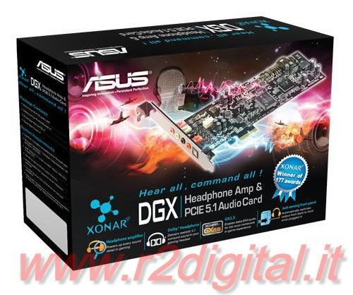 SCHEDA AUDIO ASUS XONAR DGX 5.1 PCI 6 CANALI DOLBY SURROUND PC