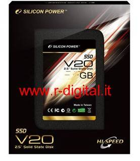 "HARD DISK SILICON POWER V20 SSD 120Gb 2,5"" SATA DRIVE SOLIDO"