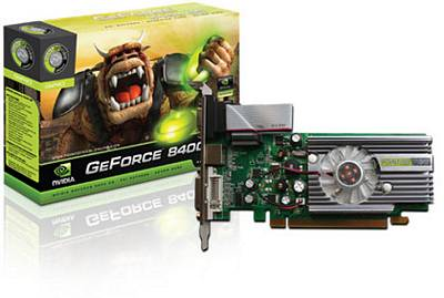 SCHEDA VIDEO POINT OF VIEW 8400GS 512MB PCI-E GEFORCE GRAFICA