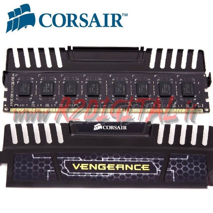 CORSAIR 4 Gb VENGEANCE DDR3 1600 MHZ MEMORIA RAM OVERCLOCK PC3