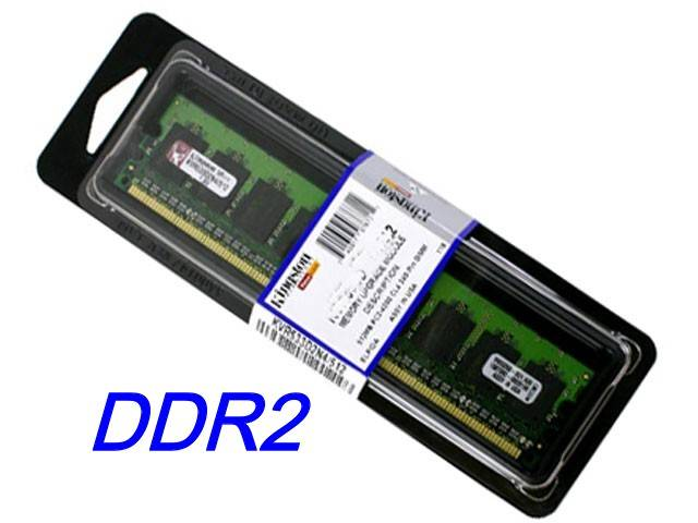 KINGSTON 1Gb DDR2 800MHZ MEMORIA RAM KVR800D2N6/1G PC2 6400 PC