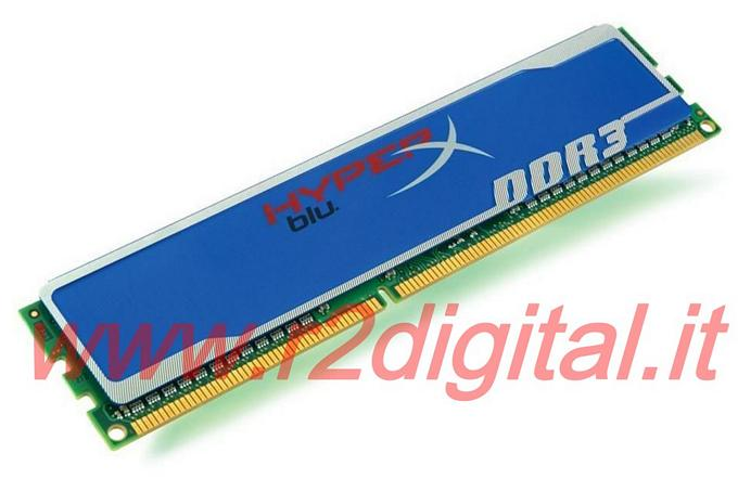 KINGSTON 4Gb DDR3 1333 HYPER X MEMORIA RAM KHX1333C9D3B1/4G PC3