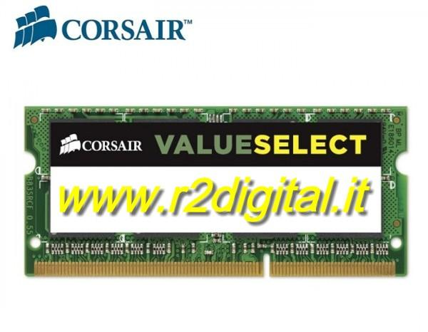 CORSAIR DDR2 2Gb 800MHZ MEMORIA RAM SODIMM NOTEBOOK PC2 6400