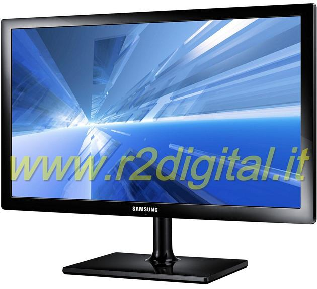 "TV SAMSUNG LED 19"" HD DVB-T MONITOR USB CI SLOT VGA HDMI"