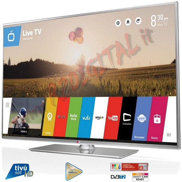 "TV LG LED 42"" 3D HD SMART FULL 42LF652 DVB-T2 USB FHD MKV HDMI"