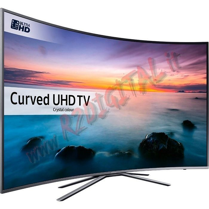 "TV SAMSUNG LED 55"" CURVO ULTRA HD SMART UE55KU6172 DVB-T2 UHD"