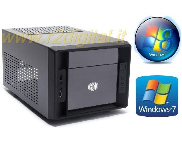 MINI COMPUTER INTEL ITX ASUS DUAL CORE RAM 4G HD 500G PC USB 3.0