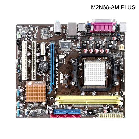 SCHEDA MADRE ASUS M2N68-AM PLUS AM2+ AM2 AMD mATX SATA2 DDR2
