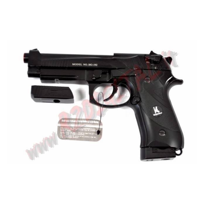 PISTOLA CO2 BERETTA 92 FS HFC CO192R SCARRELLANTE 6mm RAFFICA