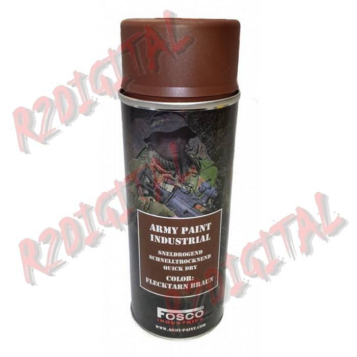 VERNICE ARMI FOSCO SPRAY FLECKTARN BRAUN 400ML PISTOLA