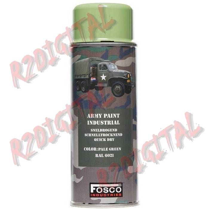 VERNICE ARMI FOSCO SPRAY PALE GREEN 400ML PISTOLA