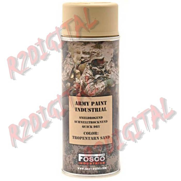 VERNICE ARMI FOSCO SPRAY TROPENTARN SAND 400ML PISTOLA