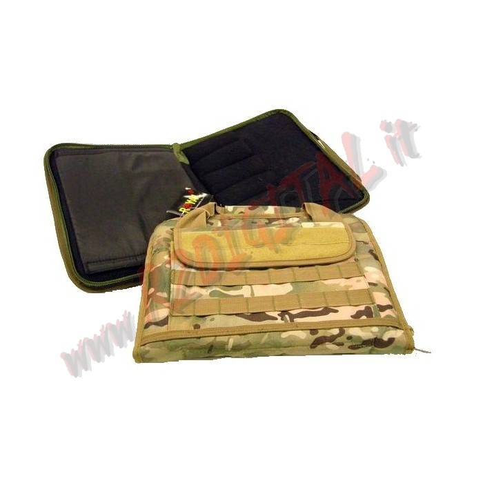 BORSA MORBIDA ROYAL MULTICAM PORTA PISTOLA E ACCESSORI