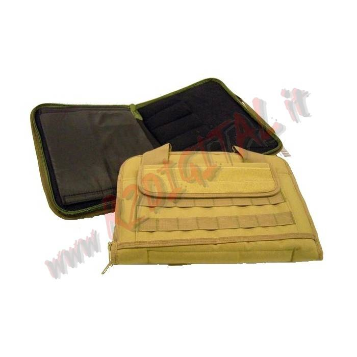 BORSA MORBIDA ROYAL TAN PORTA PISTOLA E ACCESSORI