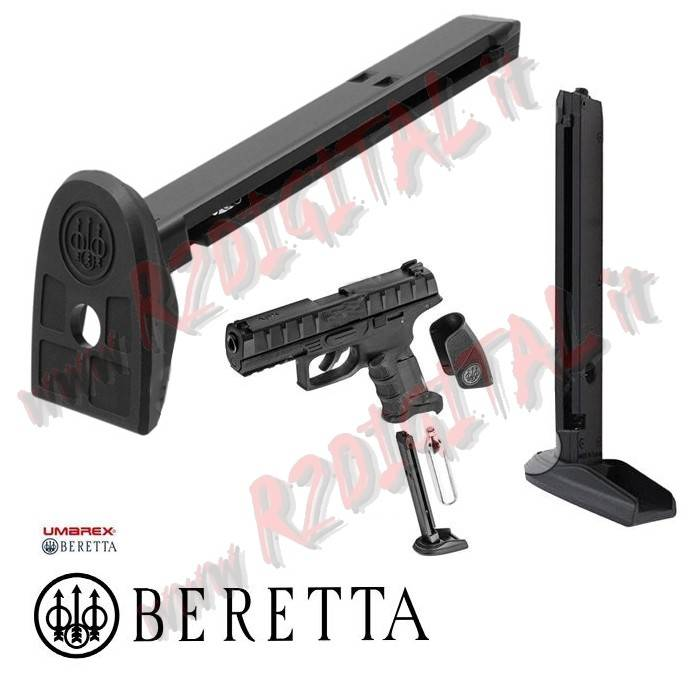CARICATORE UMAREX per PISTOLE CO2 BERETTA APX 6mm METAL