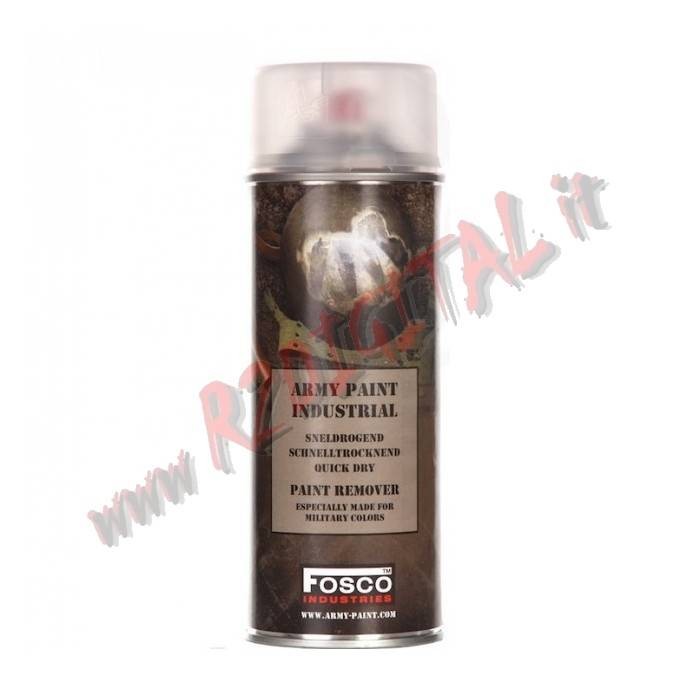SVERNICIATORE ARMI FOSCO SPRAY PAINT REMOVER 400ML