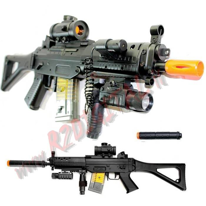 FUCILE ELETTRICO ABS SIG 552 DOUBLE EAGLE M82P FULL OPTIONAL