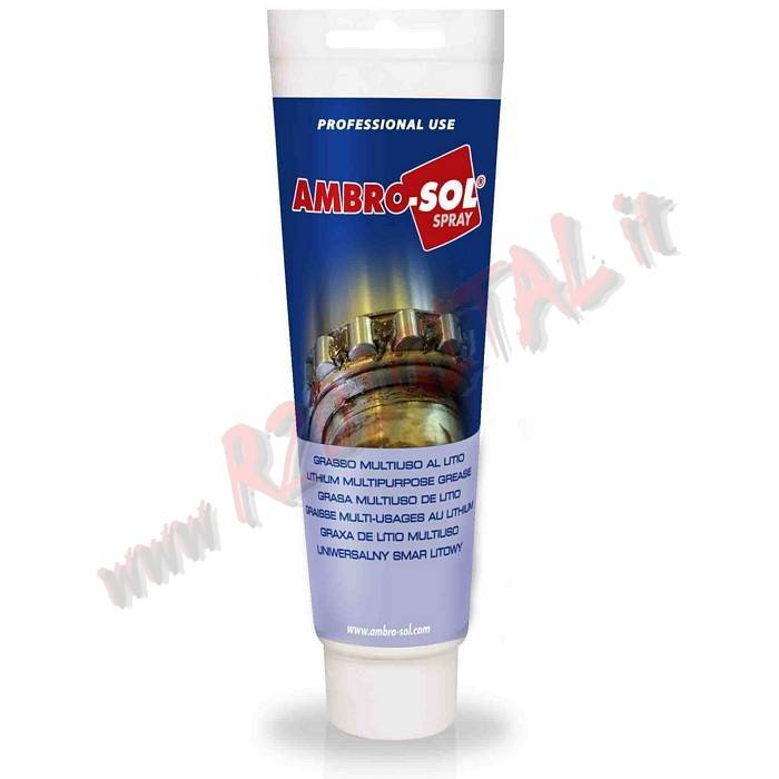GRASSO al LITIO AMBRO-SOL 125ML MULTIUSO PROFESSIONALE