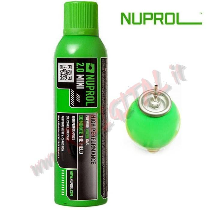 BOMBOLETTA GREEN GAS NUPROL EXTREME 2.0 9043 400ML