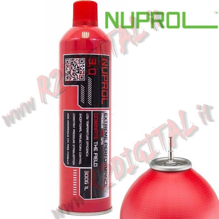 BOMBOLETTA GREEN GAS NUPROL EXTREME 3.0 9035 1000ML