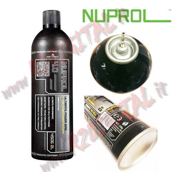 BOMBOLETTA GREEN GAS NUPROL EXTREME 4.0 9036 1000ML