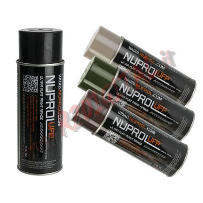 VERNICE ARMI NUPROL SPRAY FLAT BLACK 9050 NERO 450ML