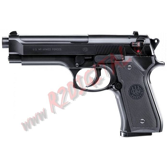 PISTOLA MOLLA RINFORZATA BERETTA M9 WORLD DEFENDER 6mm