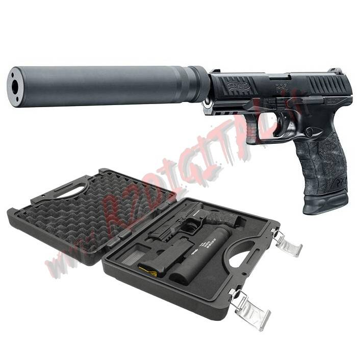 PISTOLA CO2 PPQ M2 NAVY DUTY KIT WALTHER UMAREX 2.5961-RM 6mm