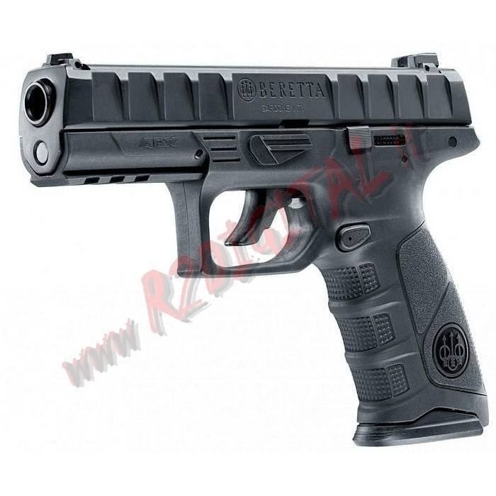 PISTOLA CO2 BERETTA APX BLOWBACK UMAREX 2.6302 6mm SOFTAIR