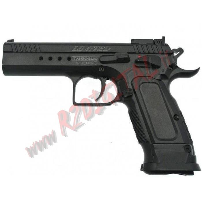 PISTOLA CO2 TANFOGLIO LIMITED EDITION CUSTOM CYBERGUN 6m SOFTAIR