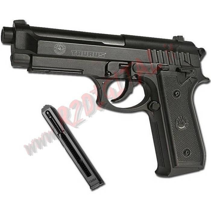 PISTOLA CO2 TAURUS PT92 CYBERGUN POLIMERO 6mm SOFTAIR