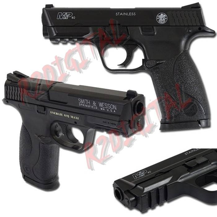 PISTOLA MOLLA RINFORZATA M&P40 SMITH & WESSON 320126