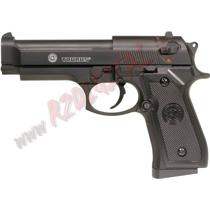 PISTOLA MOLLA RINFORZATA TAURUS PT 92 AF CYBERGUN 6mm SOFTAIR