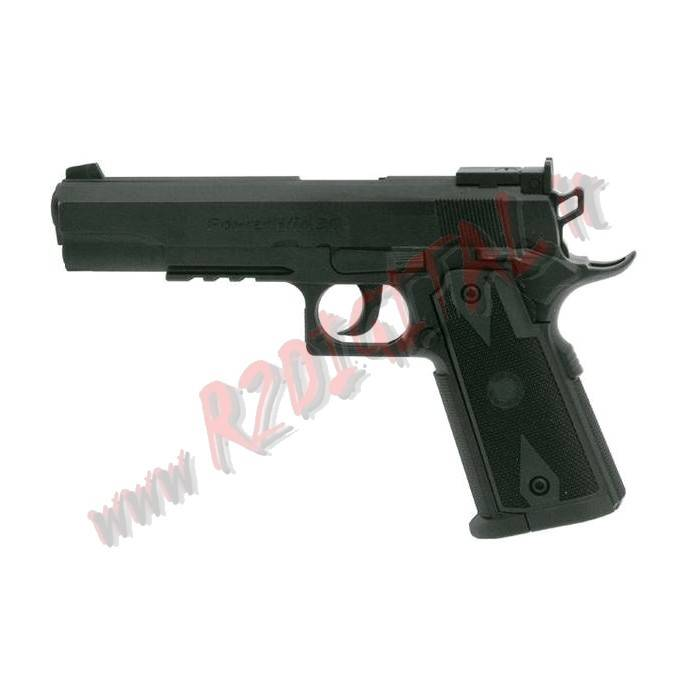 PISTOLA CO2 COLT C45LB WIN GUN C304B 6mm SOFTAIR