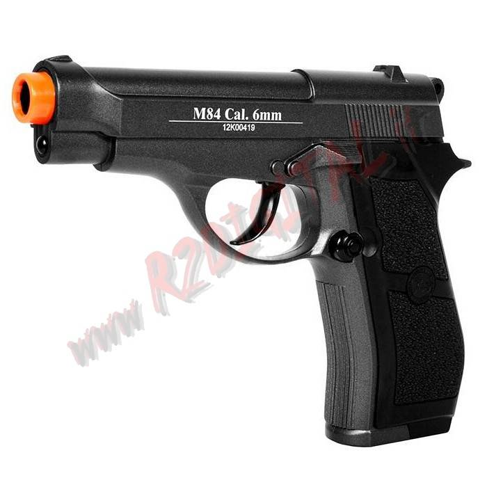 PISTOLA CO2 BERETTA M84 WIN GUN C301B WG 6mm PALLINI SOFTAIR