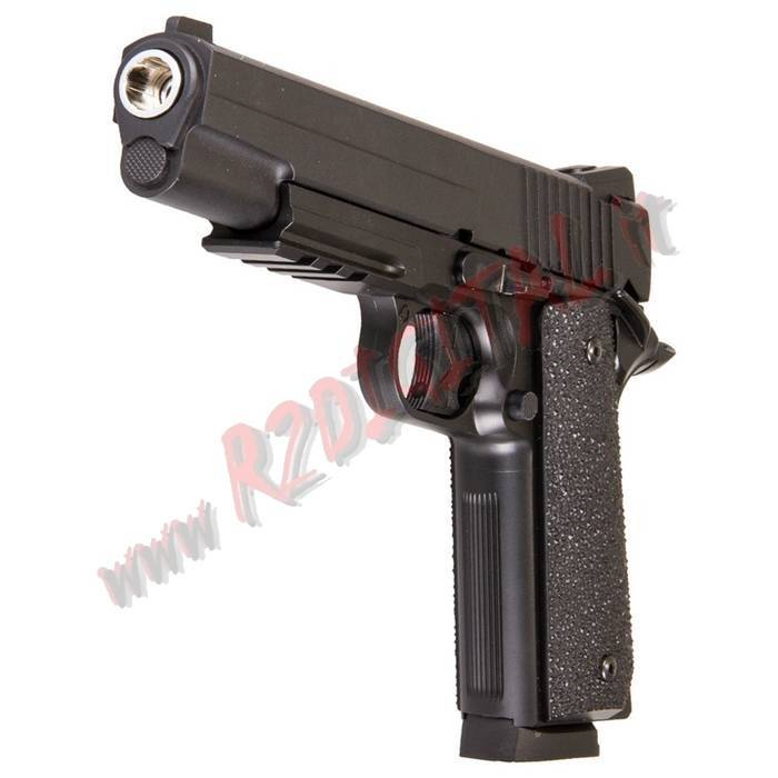 PISTOLA CO2 G1911 KWC KC-42ZDHN 6mm METAL SOF TAIR