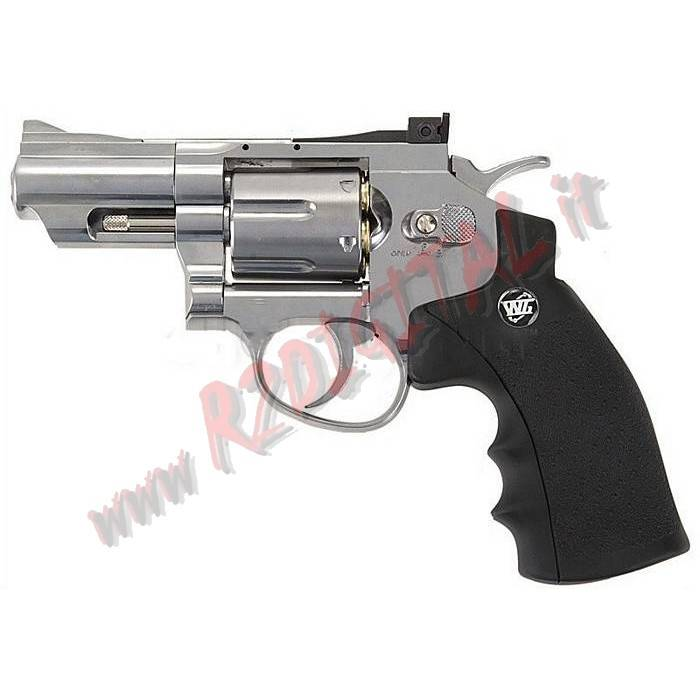 PISTOLA CO2 REVOLVER SUPER SPORT A TAMBURO WIN GUN C708 6mm
