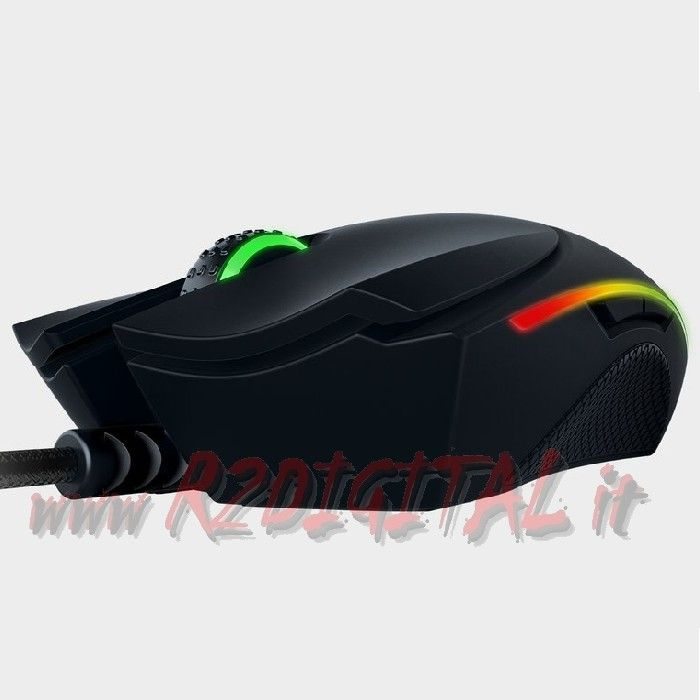 MOUSE GAMING RAZER DIAMONDBACK 2015 16000dpi DA GIOCO LED MULTIC